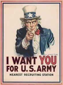 Want You for U.S.ARMY de Montgomery Flagg