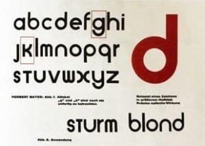 Universal un símbolo de la Bauhaus